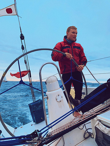The National Yacht Club's Under 30 section are involved in a number of Dun Laoghaire Dingle Race campaigns. Will Byrne is racing to Dingle on the biggest boat in the 2021 D2D fleet, the Kinsale yacht Freya skippered by Conor Doyle