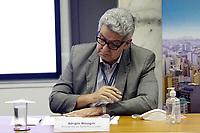 Campinas (SP), 10/03/2021 - Dario Saadi - Sergio Bisogni, presidente da Rede Mario Gatti. O prefeito de Campinas (SP), Dario Saadi (Republicanos), realizou nesta quarta-feira (10), um anuncio com ações emergenciais que serão tomadas para o combate a covid-19 na cidade.