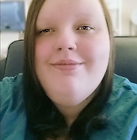 Pictured: Georgia Davis.<br /> Re: A woman once dubbed Britain's fattest teen has split up from her boyfriend Matthew Takel.<br /> Georgia Davis made headlines when she had to be moved out of her house in Aberdare, south Wales, with the help of the emergency services.