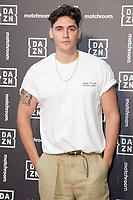 Isaac Carew<br /> arrives for the Dazn x Matchroom VIP Launch Event at the German Gymnasium Kings Cross, London<br /> <br /> ©Ash Knotek  D3569  27/07/2021