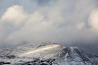 Storm clounds over mountains near Copper Mountain