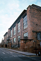 C.R. Mackintosh: Glasgow School of Art, North Facade.