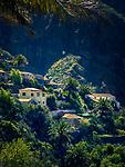 Spanien, Teneriffa, Masca, Bergdorf im Teno Alto Gebirge - heute beliebter Ausflugsort fuer Touristen | Spain, Canary Islands, Tenerife, Masca, mountain village at Teno Alto mountains