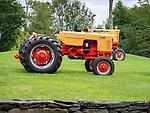 Vintage Case vac tractor