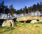 St Saint Cuthberts Cave, Nr Holy Island, Northumberland, UK. Celtic Britain published by Orion
