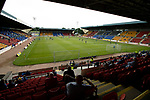 St Johnstone v Preston North End…13.07.21  McDiarmid Park<br />A 1000 fans were allowed into McDiarmid Park for tonight's friendly<br />Picture by Graeme Hart.<br />Copyright Perthshire Picture Agency<br />Tel: 01738 623350  Mobile: 07990 594431