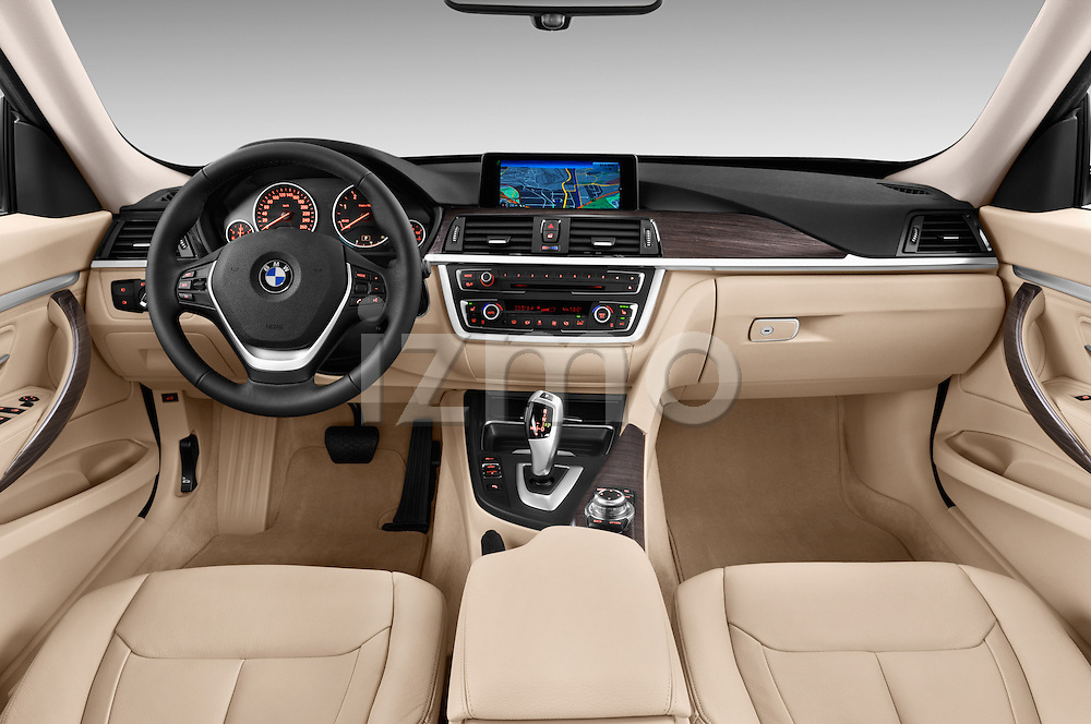 Straight dashboard view of a 2013 Bmw SERIES 3 Luxury 5 Door Hatchback 2WD