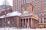 Kings Chapel, Boston National Historical Park, Boston, Massachusetts, USA