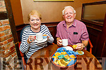 Mary and Joseph Foy supporting the Coffee Morning for Palliative Care on Thursday in the Ballygarry House Hotel.