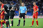 14th August 2013 - Cardiff - UK : Wales v Republic of Ireland - Vauxhall International Friendly at Cardiff City Stadium :  Referee Pavel Kralovec (Czech Republic)
