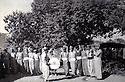 Iraq 1975<br /> A wedding in Kharabe, men dancing<br /> Irak 1975<br /> Un mariage a Kharabe, region de Berwari: les hommes dansent