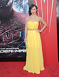 Karina Smirnoff attends  COLUMBIA PICTURES' THE AMAZING SPIDER-MAN Premiere held at Regency Village Theater in Westwood, California on June 28,2012                                                                               © 2012 Hollywood Press Agency