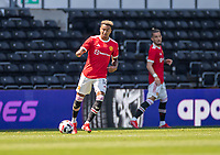 18th July 2021; Pride Park, Derby, East Midlands; Pre Season Friendly Football, Derby County versus Manchester United;  Jesse Lingard of Manchester United