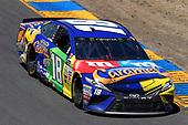 Monster Energy NASCAR Cup Series<br /> Toyota/Save Mart 350<br /> Sonoma Raceway, Sonoma, CA USA<br /> Sunday 25 June 2017<br /> Kyle Busch, Joe Gibbs Racing, M&M's Caramel Toyota Camry<br /> World Copyright: Nigel Kinrade<br /> LAT Images