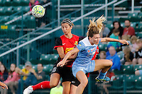 Rochester, NY - Friday July 01, 2016: Abby Erceg during a regular season National Women's Soccer League (NWSL) match between the Western New York Flash and the Chicago Red Stars at Rochester Rhinos Stadium.