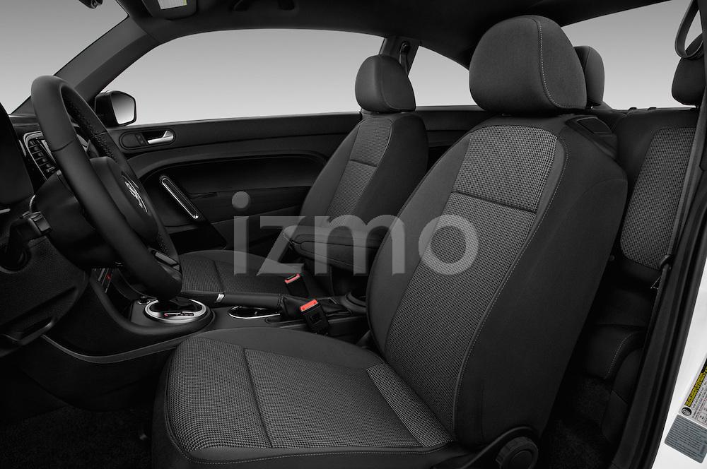Front seat view of 2017 Volkswagen Beetle S 3 Door Hatchback Front Seat  car photos