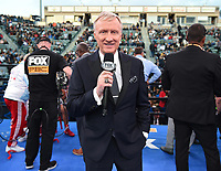 """CARSON, CA- APRIL 20: Fox's Jimmy Lennon Jr. during the Fox Sports """"PBC on Fox"""" Fight Night at Dignity Health Sports Park on April 20, 2019 in Carson, California. (Photo by Frank Micelotta/Fox Sports/PictureGroup)"""