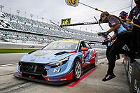 #33 Bryan Herta Autosport w/ Curb Agajanian Hyundai Elantra N TCR, TCR: Mark Wilkins, Harry Gottsacker