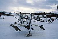 - Norwegian Army Air Force, artillery observation aircrafts Cessna O-1e Bird Dog ....- aviazione dell'esercito norvegese, aerei per l'osservazione dei tiri di artiglieria Cessna O-1E Bird Dog