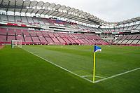 KASHIMA, JAPAN - JULY 27: Ibaraki Kashima Stadium before a game between Australia and USWNT at Ibaraki Kashima Stadium on July 27, 2021 in Kashima, Japan.
