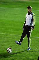 Spanish National Team's  training at Ciudad del Futbol stadium in Las Rozas, Madrid, Spain. In the pic: Gerard Pique. March 25, 2015. (ALTERPHOTOS/Luis Fernandez) /NORTEphoto.com