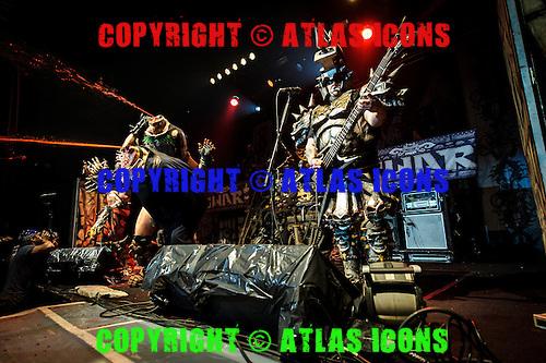 GWAR, LIVE, 2012, <br /> PHOTOCREDIT:  IGOR VIDYASHEV/ATLASICONS