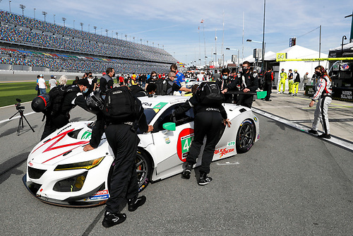 #44 Magnus with Archangel Acura NSX GT3, GTD: Mario Farnbacher, Spencer Pumpelly, John Potter, Andy Lally <br /> Pre-race