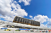NASCAR Xfinity Series<br /> Rinnai 250<br /> Atlanta Motor Speedway, Hampton, GA USA<br /> Saturday 24 February 2018<br /> Kyle Benjamin, Joe Gibbs Racing, Peak Antifreeze & Coolant Toyota Camry and Brandon Jones, Joe Gibbs Racing, Menards Jeld-Wen Toyota Camry<br /> World Copyright: Nigel Kinrade<br /> NKP / LAT Images