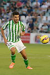 Dani during the match between Real Betis and Recreativo de Huelva day 10 of the spanish Adelante League 2014-2015 014-2015 played at the Benito Villamarin stadium of Seville. (PHOTO: CARLOS BOUZA / BOUZA PRESS / ALTER PHOTOS)