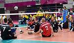 Austin Hinchey, Bryce Foster, Doug Learoyd, and Mikael Bartholdy, Lima 2019 - Sitting Volleyball // Volleyball assis.<br />