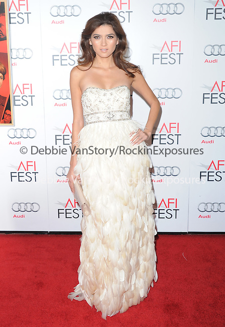 Blanca Blanco at The AFI FEST 2012 Hitchcock Gala Screening held at The Grauman's Chinese Theatre in Hollywood, California on November 01,2012                                                                               © 2012 Hollywood Press Agency