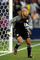 Tim Howard USMNT...USMNT defeated Guadeloupe 1-0 in Gold Cup play at LIVESTRONG Sporting Park, Kansas City, Kansas.