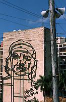 Cuba/La Havane: Le ministère de l'intérieur et le portrait géant de Che Guevara