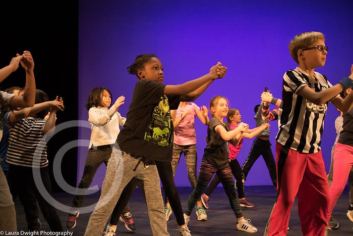 Public elementary school for gifted children grades K-6: Dance program for 4th or 5th graders