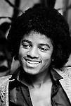 Michael Jackson 1978 The Jacksons<br /> © Chris Walter