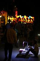 Street vendor<br />  in <br />  Hoi An, January, 2017