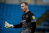 21st November 2020; Adams Park Stadium, Wycombe, Buckinghamshire, England; English Football League Championship Football, Wycombe Wanderers versus Brentford; Ryan Allsop Wycombe Wanderers goalkeeper.