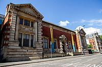 A general view of Glynn Vivian Art Gallery, Swansea, Wales, UK. Thursday 06 June 2019