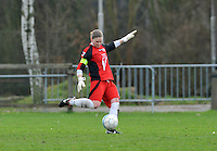 Beerschot AD - KVK Tienen : Tienense doelvrouw Sofie Vanhoutven.foto DAVID CATRY / JOKE VUYLSTEKE / Vrouwenteam.be