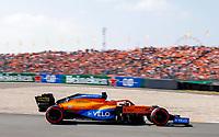 3rd September 2021: Circuit Zandvoort, Zandvoort, Netherlands;    3 Daniel Ricciardo AUS, McLaren F1 Team, F1 Grand Prix of the Netherlands at Circuit Zandvoort