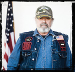 Veteran James Tyson poses for a photo at a Veterans Day Program at the Oxford Conference Center in Oxford, Miss. on Thursday, November 11, 2010.