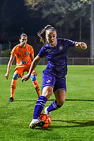 Anderlecht midfielder Tine De Caigny (6) pictured during a female soccer game between RSC Anderlecht Dames and AA Gent Ladies on the seventh matchday of the 2020 - 2021 season of Belgian Womens Super League , friday 13 th of November 2020  in Overijse , Belgium . PHOTO SPORTPIX.BE | SPP | STIJN AUDOOREN