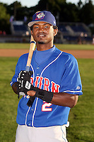 August 28th, 2007:  Carlos Vasquez of the Auburn Doubledays, Class-A affiliate of the Toronto Blue Jays at Dwyer Stadium in Batavia, NY.  Photo by:  Mike Janes/Four Seam Images