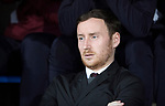 St Johnstone v Hearts…05.04.17     SPFL    McDiarmid Park<br />Hearts head coach Ian Cathro<br />Picture by Graeme Hart.<br />Copyright Perthshire Picture Agency<br />Tel: 01738 623350  Mobile: 07990 594431