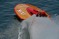 """Dick Delsener, N-00 """"North Star"""" (225 class Colcock hydroplane)"""