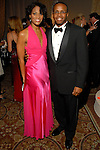 """Raquel Bone and Dwight Battle at the Children's Museum """"Arabian Nights"""" Gala at The Corinthian Saturday  Oct. 14,2006.(Dave Rossman/For the Chronicle)"""
