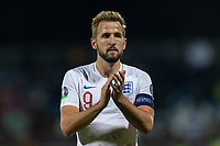 Harry Kane of England celebrates after the UEFA Euro 2020 Qualifying Group A match between Kosovo and England at Fadil Vokrri Stadium on November 17th 2019 in Pristina, Kosovo. (Photo by Daniel Chesterton/phcimages.com)<br /> Photo PHC Images / Insidefoto <br /> ITALY ONLY