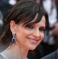 JULIETTE BINOCHE - RED CARPET OF THE FILM 'L'AMANT DOUBLE' AT THE 70TH FESTIVAL OF CANNES 2017