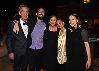 """LOS ANGELES - FEBRUARY 26: (L-R) Bill Nye, Samuel Sagan, Ann Druyan, Nicole Richie, and Sasha Sagan attend National Geographic's 2020 Los Angeles premiere of """"Cosmos: Possible Worlds"""" at Royce Hall on February 26, 2020 in Los Angeles, California. Cosmos: Possible Worlds premieres Monday, March 9 at 8/7c on National Geographic. (Photo by Frank Micelotta/National Geographic/PictureGroup)"""