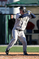 February 26, 2010:  Outfielder Jeremy Gum (10) of the West Virginia Moutaineers during the Big East/Big 10 Challenge at Bright House Field in Clearwater, FL.  Photo By Mike Janes/Four Seam Images